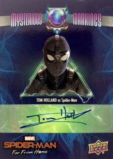 2019 UD SPIDER-MAN FAR FROM HOME Mysterious Markings Tom Holland / MINT新宿店 大泉積郎様 [3月]