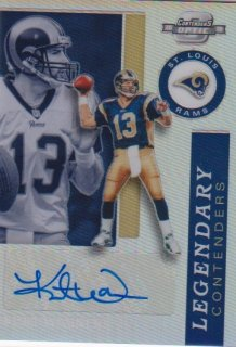 Panini 2020 NFL Contenders OPTIC Auto Kurt Warner【50枚限定】/ミントポニーランド店 Shin8様[3月]