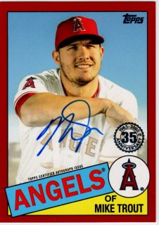 2020 Topps Series 1 1985 35th Anniversary Autograph Mike Trout 25枚限定MINT神田店 kassi様[3月]