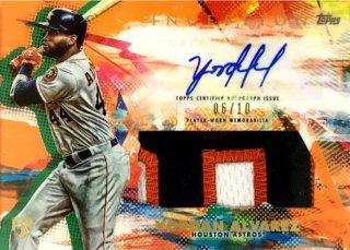 2020 Inception Autographed Patch Orange Yordan Alvarez 【10枚限定】 / MINT浦和店 ジョルノ様[3月]