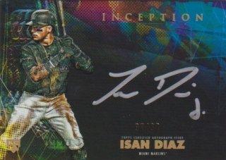 2020 TOPPS INCEPTION Silver Signings「Isan Diaz」[限定99枚] ミントポニーランド店:FF様[3月]