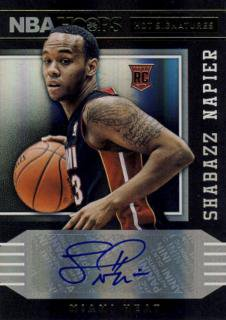 2014-15 PANINI HOOPS Auto Shabazz Napier / Rookie Star RS11様