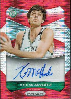 14-15 PRIZM Red Pulsar Auto Kevin McHale【149枚限定】 えびすスポーツカード ぎっち様