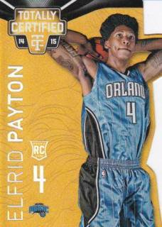 14-15 NBA PANINI TOTALLY CERTIFIED MIRROR GOLD DIE CUT Elfrid Payton【10枚限定】/MATCHUP たかちゃん様