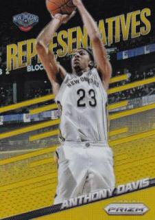 2014-15 NBA PANINI PRIZM GOLD PULSAR Anthony Davis【10枚限定】/MATCHUP T 様