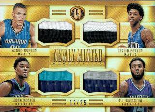 14-15 GOLD STANDARD Patch Gordon / Payton / Vonler / Hairston【25枚限定】えびすスポーツカード ぎっち様