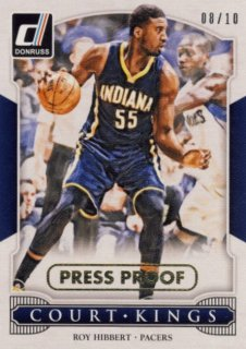2014-15 PANINI DONRUSS Press Proof Roy Hibbert 10枚限定/Rookie Star RS11様