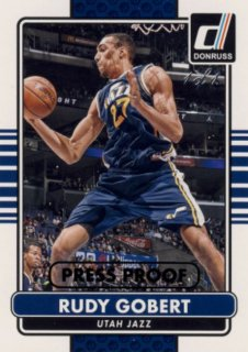 2014-15 PANINI DONRUSS Press Proof Black Rudy Gobert 1枚限定/Rookie Star RS13様