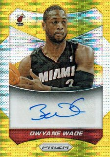 14-15 PRIZM Auto Dwyane Wade【10枚限定】えびすスポーツカード CP3様