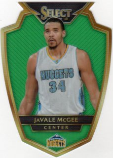 2014-15 PANINI SELECT PRIZMS GREEN JAVALE MCGEE PRE【5枚限定】/ ミント千葉店 ハセ様