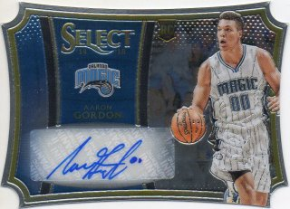 14-15 PANINI SELECT RC Die-Cut Auto Aaron Gordon 【99枚限定】 MINT梅田店 マンジール様