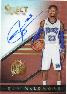 14-15 PANINI SELECT Auto Copper Prizm Ben McLemore 【49枚限定】 MINT梅田店 マンジール様