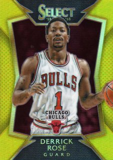 14-15 PANINI SELECT Gold Prizm DERRICK ROSE 【10枚限定】 MINT仙台店 下柳様