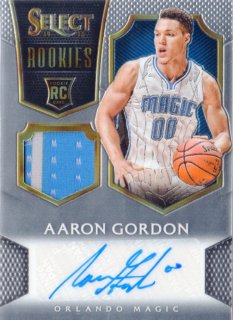 14-15 PANINI SELECT RC Jersey Auto Aaron Gordon 【199枚限定】 MINT福岡店 ハーダウェイ様