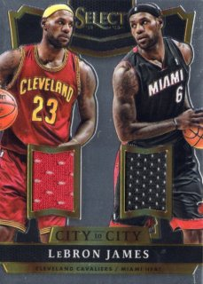 14-15 PANINI SELECT CITY to CITY Jersey Le Bron James 【199枚限定】 MINT福岡店 ハーダウェイ様