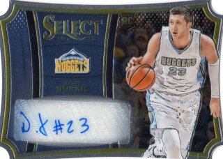 14-15 PANINI SELECT RC Die-Cut Auto Jusuf Nurkic 【99枚限定】 MINT福岡店 くーちゃん様