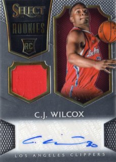 14-15 PANINI SELECT RC Jersey Auto C.J.Wilcox 【199枚限定】 MINT福岡店 くーちゃん様