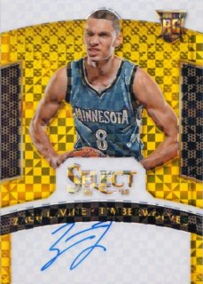 2014 Panini Select Zach LaVine Rookie Signature Gold Parallel【10枚限定】MINT札幌店 よし様