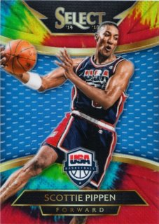 2014-15 Panini Select Scottie Pippen Courtside USA  Tie-Dye Prizms【25枚限定】MINT札幌店 H・BAGGIO様