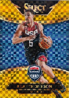 2014-15 Panini Select  Klay Thompson Courtside USA Gold Prizm JSY No【10枚限定】MINT札幌店 よし様