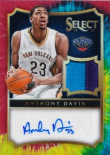 2014-15 Panini Select  Anthony Davis Autograph Material【25枚限定】MINT札幌店 よし様