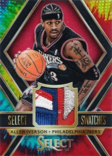2014-15 Panini Select  Allen Iverson Select Swatche Patch【25枚限定】MINT札幌店 よし様