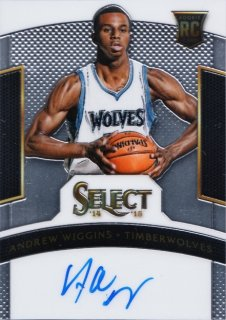 2014-15 Panini Select Andrew Wiggins Rookie Signature【275枚限定】MINT札幌店 よし様