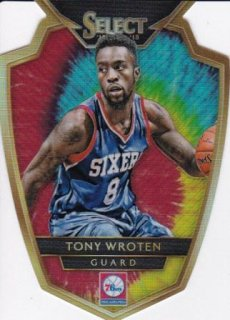 2014-15 NBA PANINI SELECT TIE-DYE PRIZMS DIE-CUT Tony Wroten【25枚限定】/MATCHUP OG 様