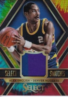 2014-15 NBA PANINI SELECT SWATCHES TIE-DYE PRIZMS Alex English【25枚限定】/MATCHUP OG 様