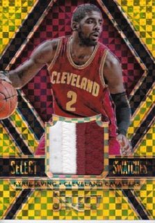 2014-15 NBA PANINI SELECT SWATCHES GOLD PRIZMS JERSEY NUMBER 02/10 Kyle Irving【10枚限定】/MATCHUP OG 様