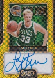 2014-15 NBA PANINI SELECT SIGNATURE GOLD Larry Bird【10枚限定】/MATCHUP OG 様