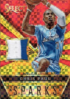 14-15 SELECT Gold Patch Chris Paul【10枚限定】えびすスポーツカード CP3様