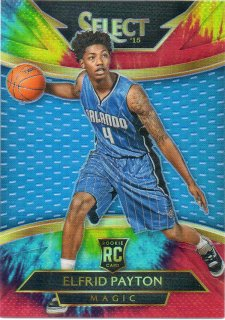 14-15 PANINI SELECT RC Courtside Card Tie-Dye Prizm Elfrid Payton 【25枚限定】 MINT梅田店 ぺいとん様