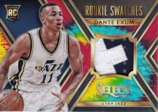 14-15 NBA PANINI SELECT ROOKIE SWATCHES TIE-DYE PRIZMS Dante Exam【25枚限定】/MATCHUP  たかちゃん 様