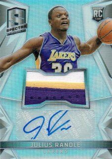 14-15 SPECTRA Patch Auto Julius Randle えびすスポーツカード ke様