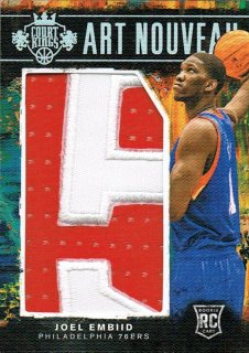 14-15 Court Kings Patch Joel Embiid【10枚限定】えびすスポーツカード VC様