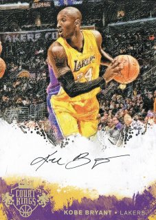 14-15 Court Kings Topper Auto Kobe Bryant えびすスポーツカード VC様