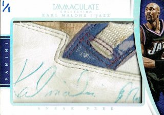14-15 IMMACULATE Sneak Peek Karl Malone【1枚限定】えびすスポーツカード Kuma様