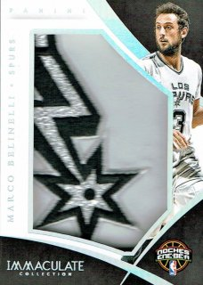 14-15 IMMACULATE Patch Marco Belinelli【4枚限定】えびすスポーツカード Kuma様