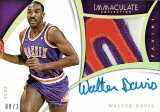 14-15 IMMACULATE Patch Auto Walter Davis【10枚限定】えびすスポーツカード ナッパ様