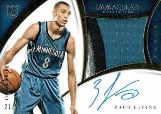14-15 IMMACULATE Premium Patch Auto Zach LaVine【25枚限定】えびすスポーツカード Kuma様