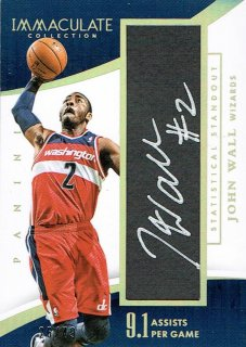 14-15 IMMACULATE Auto John Wall【49枚限定】えびすスポーツカード CP3様