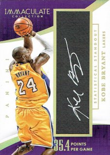 14-15 IMMACULATE Auto Kobe Bryant【49枚限定】えびすスポーツカード CP3様