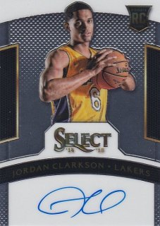 14-15 SELECT BASKETBALL AUTO JORDAN CLARKSON 275枚限定 ホットボックス PG13様