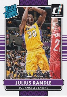 14-15 DONRUSS BASKETBALL PRESS PROOF JULIUS RANDLE 25枚限定 ホットボックス PG13様