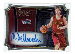 14-15 SELECT BASKETBALl M.DELLAVEDOVA AUTO 【99枚限定】 立川店 たもパパ様
