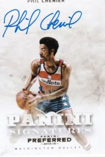 2014-15 NBA PANINI PREFERRED PANINI SIGNATURES GOLD Phil Chenier【10枚限定】 /MATCHUP  M 様
