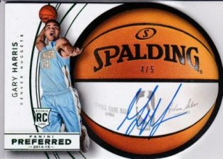 2014-15 NBA PANINI PREFERRED ROUNDBALL DIECUT AUTOGRAPHS GREEN Gary Harris【5枚限定】 /MATCHUP  GP 様