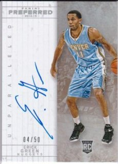 2014-15 NBA PANINI PREFERRED UNPARALLELED ROOKIES Erick Green【5枚限定】 /MATCHUP  GP 様