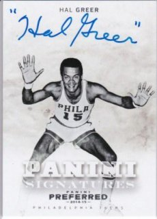 2014-15 NBA PANINI PREFERRED PANINI SIGNATURES Hall Greer /MATCHUP  壁 様